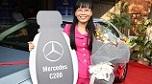 Cô gái ở Trà Vinh bất ngờ trúng Mercedes